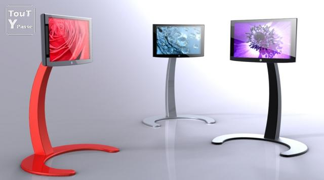 support plasma lcd sur pied design innovateur support tv design - Support Tv Design