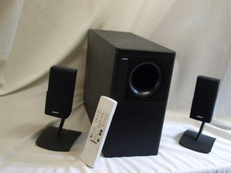 systeme d 39 enceintes home bose acoustimass 5 series iv rennes 35000. Black Bedroom Furniture Sets. Home Design Ideas