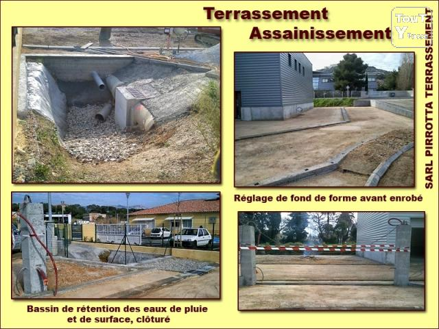 Terrassement enrochement amenagement piscine ollioules 83190 for Piscine ollioules