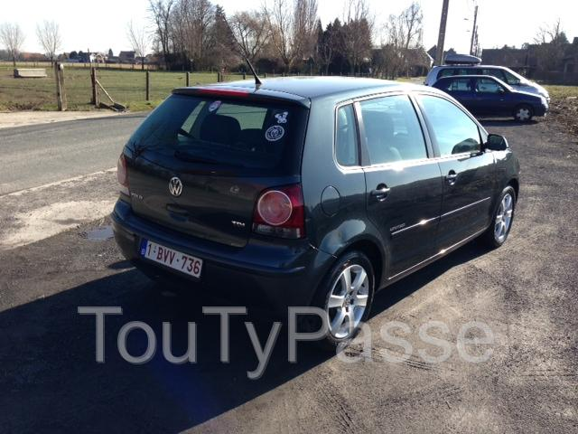 volkswagen polo united 1 4 tdi occasion pas cher tournai 7500 annonces voitures d 39 occasion. Black Bedroom Furniture Sets. Home Design Ideas
