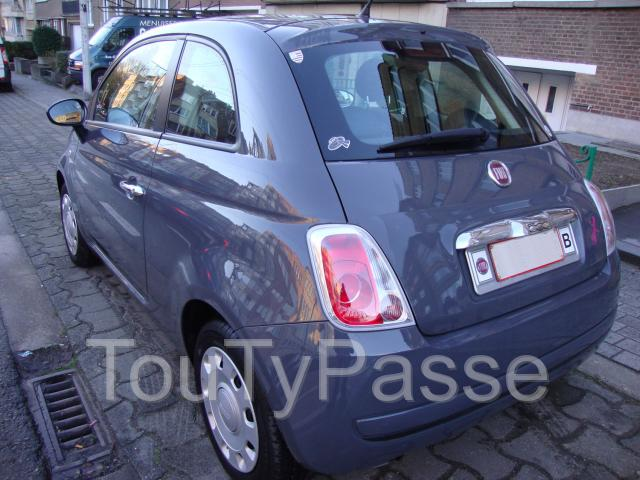a vendre fiat 500 1 2 8v 69 cv pop start stop occasion pas cher bruxelles capitale. Black Bedroom Furniture Sets. Home Design Ideas