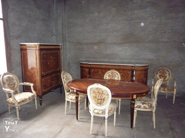 a vendre salle a manger louis xvi albertville 73200. Black Bedroom Furniture Sets. Home Design Ideas
