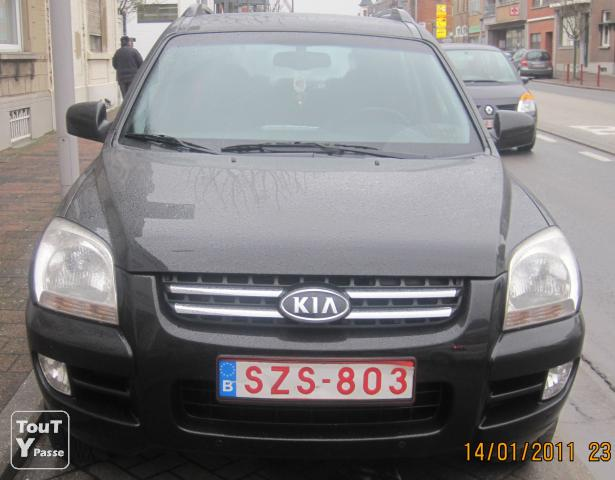 kia sportage 4x4 wd active 2l full option occasion pas cher la louvi re 7100 annonces voitures. Black Bedroom Furniture Sets. Home Design Ideas