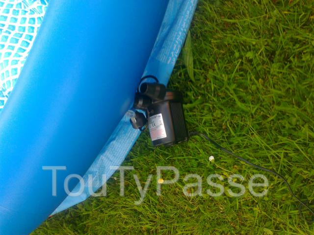 Piscine intex a vendre namur for Piscine bois 1m30