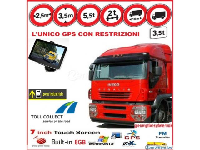 gps camion camping car voit bluetooth 7 bruxelles capitale. Black Bedroom Furniture Sets. Home Design Ideas