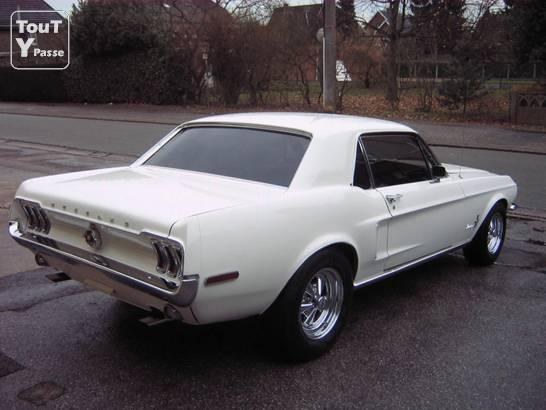 Photo Loue Ford Mustang V8 1968 image 5/5
