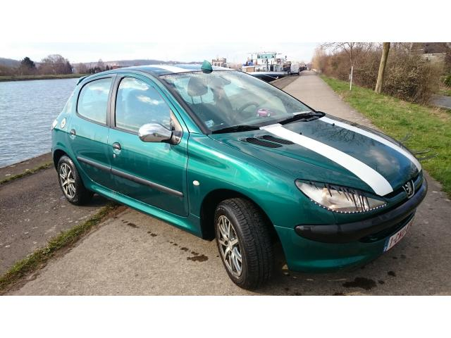 Peugeot 206 tuning 1 1 essence occasion pas cher li ge - Peugeot 206 occasion diesel 5 portes pas cher ...