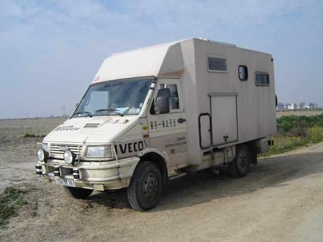 cellule clemenson 2003 sur porteur 4x4 iveco 1990 tarn. Black Bedroom Furniture Sets. Home Design Ideas