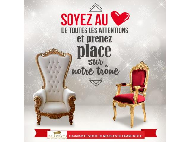 Photo Grossiste mobilier mariage image 6/6